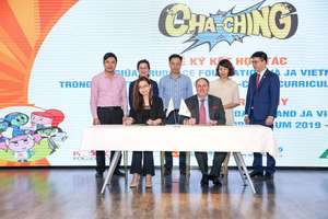 Companies to help 31 Ha Noi primary schools teach financial planning