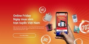 Online Friday 2019 supports sales through e-voucher