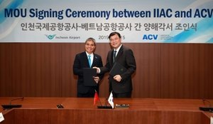 ACV signs deal with Incheon Airport