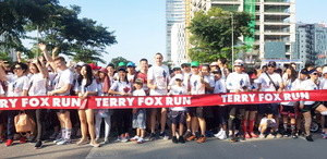 Manulife gets healthy and active at the 2019 Terry Fox Run