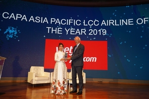 Vietjet named Asia Pacific's low cost airline of the year 2019
