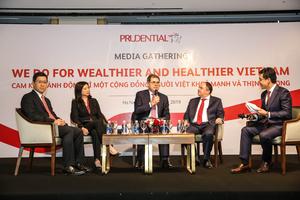 Prudential Vietnam commits to ensuring wealthier, healthier community