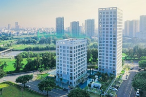 Phu My Hung develops first all-duplex apartment project in HCM City