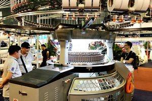 Textile exhibitions in HCM City