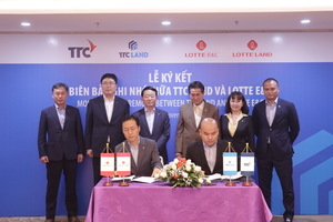 Korea's Lotte to invest $100m in property joint venture with TTC Land