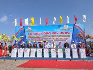 Construction on Quang Tri 1 thermal power plant kicks off