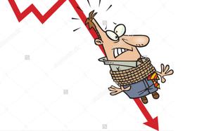 Large-caps lose steam, dragging market down