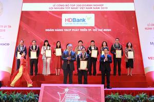 HDBank named among top 10 leading profitable banks
