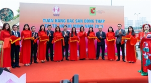 """""""Week of Dong Thap Specialities"""" kicks off atBig C in HCM City"""