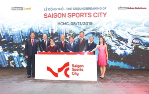 Construction of 64ha Saigon Sports City township begins in HCM City