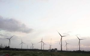 Trung Nam wind power plant in second stage of generation