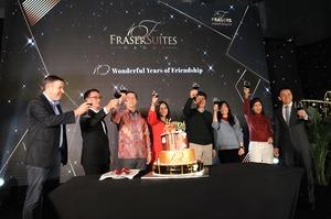 Fraser Suites Hanoi celebrates 10 years of hospitality, friendship
