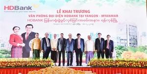 HDBank opens representative office in Myanmar, ties up with Viettel