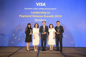 Shinhan Bank wins 3 Visa awards