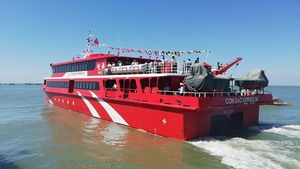 High-speed boat between Vung Tau and Con Dao
