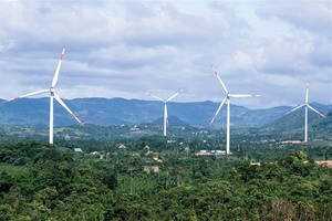 VND5.2 trillion to be invested in wind power in Quang Tri Province