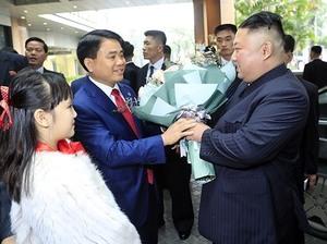 DPRK Chairman Kim Jong Un arrives in Ha Noi