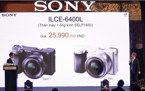Sony launches new camera