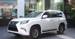 Lexus Viet Nam recalls GX460 cars to fix airbag faults