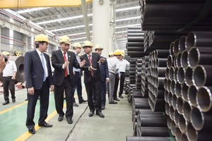 Hoa Sen exports 15,000 tonnes of steel sheets to EU