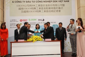 Taiwanese firms invest $30 million in Binh Phuoc's industrial park
