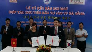 Central city and Korea push for more investment