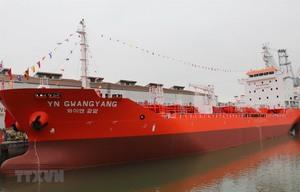 6,500-tonne oil tanker delivered to RoK firm