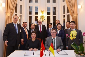 Germany supports VN in operating water plants