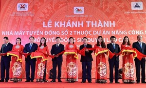 Lao Cai inaugurates copper plant