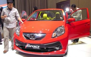 Indonesia's Honda Brio to be exported to Philippines, Viet Nam