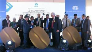 Tata's freeze dried coffee plant opens