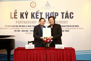 HCM City Conservatory of Music ties up with AMPA Education