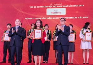 Prudential Vietnam posts high growth for 2018