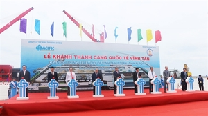 Vinh Tan international seaport opens in Binh Thuan