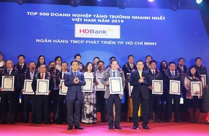 HDBank among 5 fastest growing lenders this year