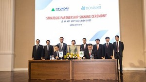 Vietnamese, RoK firms set up strategic partnership