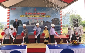 ​​​​​​​Saigon Co.op builds new supermarket in Tay Ninh