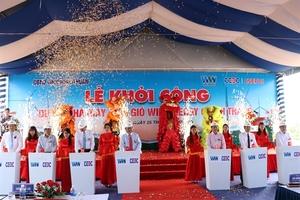 Work starts on VND1.7 trillion wind farm in Ninh Thuan
