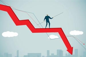 Market loses ground as large-caps falter