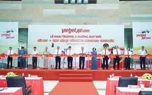 Vietjet launches five new domestic routes