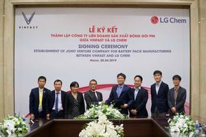 VinFast, LG Chem team up on battery production
