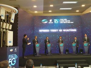 Viettel makes first 5G call in Viet Nam