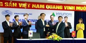 Vinaconex, Hyundai E&C to foster bilateral co-operation