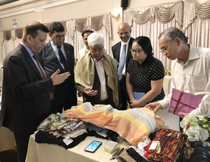 Indian and VN enhance co-operation in silk sector