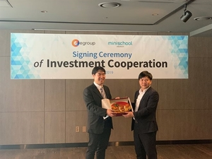 Online education firm Egroup partners with South Korea-based Minischool