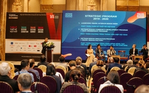 Viet Nam Design Association shakes hand with foreign partners