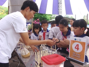 Bayer, partners organise science festival for primary school students, teachers