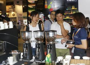 Coffee exhibition begins in HCM City