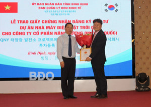 Binh Dinh approves $70m solar power project