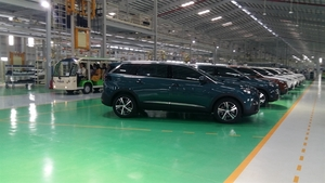 New Peugeot manufacturing plant debuts in Quang Nam